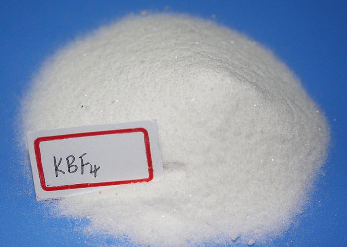 Potassium fluoroborate KBF4 used in aluminium-metallurgy