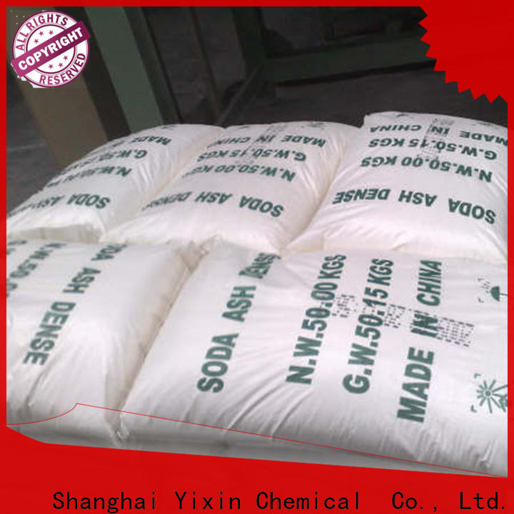 Yixin types of soda ash Supply for chemical manufacturer