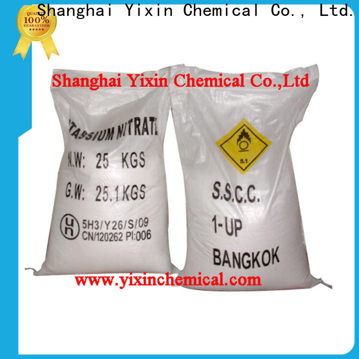 Yixin white 100 potassium nitrate Suppliers for fertilizer and fireworks