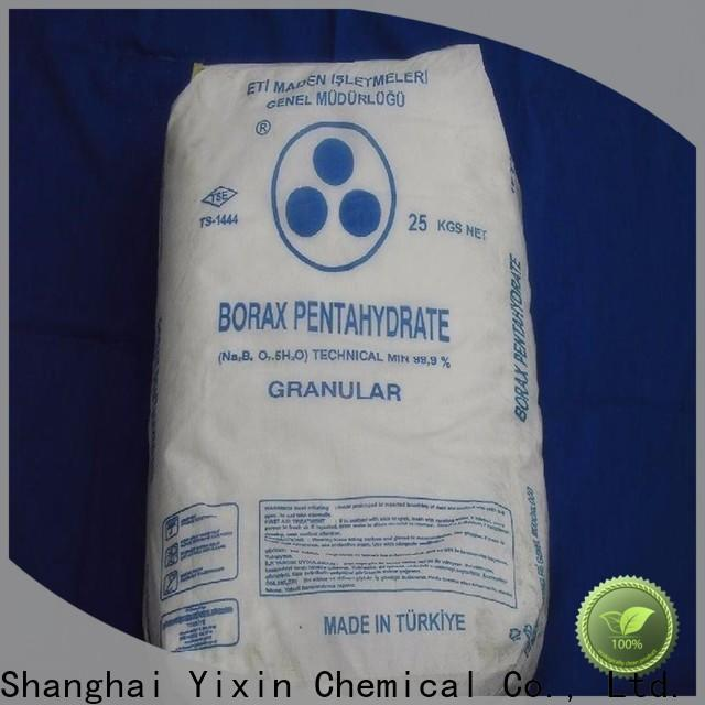 Yixin borate vs borax company for laundry detergent making