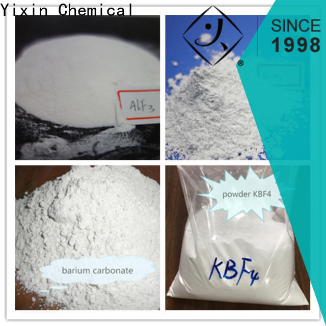 Yixin potassium fluoride cas company for Soap And Glass Industry