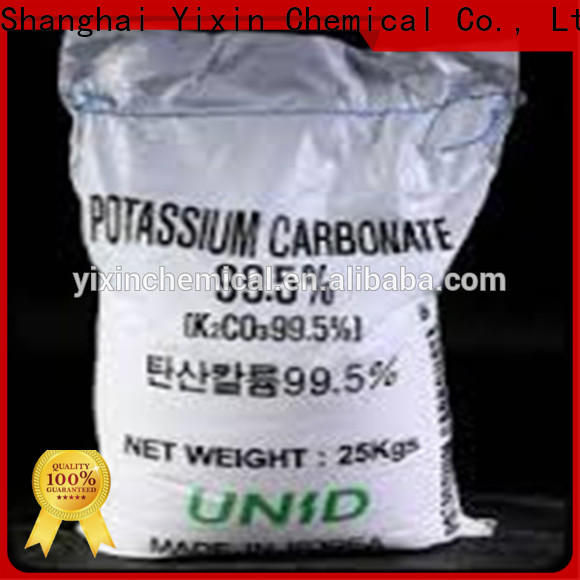 Yixin potassium carbonate toxicity company for dyeing industry