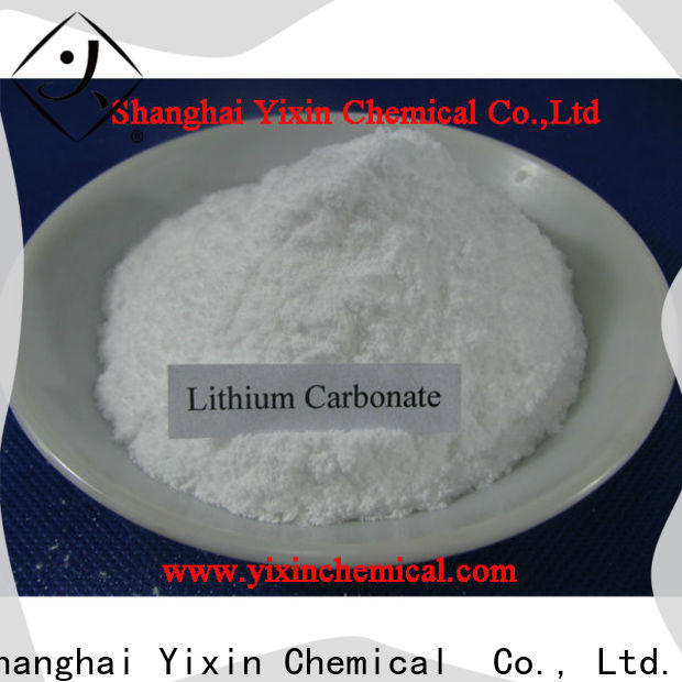 Yixin lithium carbonate classification for business used in ceramics production